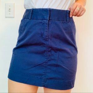 Vineyard Vines Navy Classic Skirt